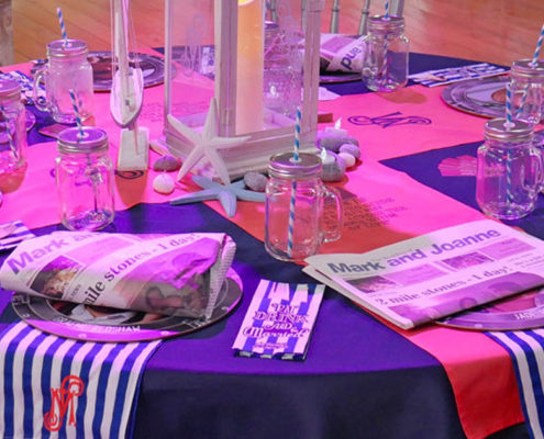 RequestaGuest - personalised custom bespoke wedding table invites gifts and stationary | Newcastle upon Tyne