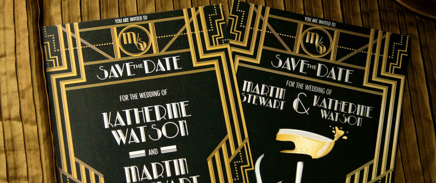 Art Deco Gatsby Theme Overview – RequestaGuest