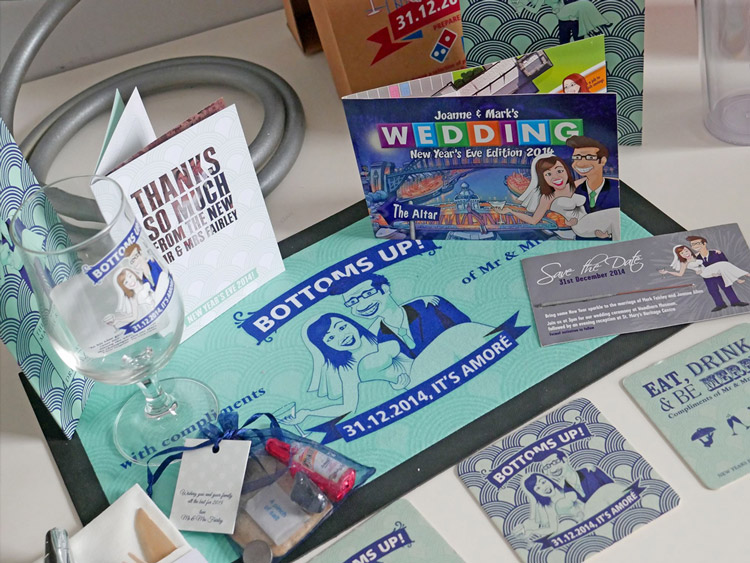 RequestaGuest.co.uk - bespoke wedding invites and corporate stationary - St James Park Wedding Fair - October 2016